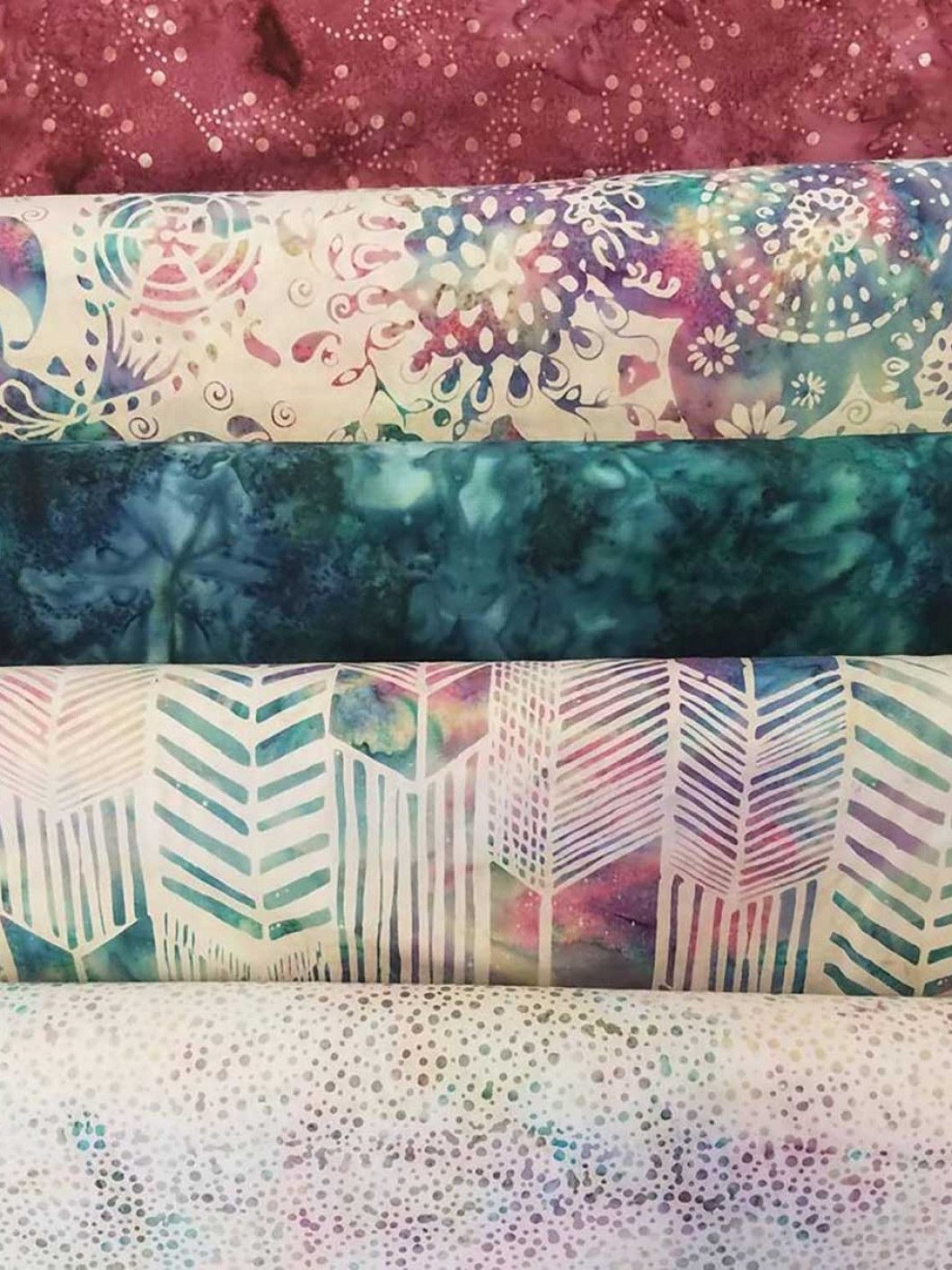 Choose 100% Cotton Yard Goods From Sew N Sew Shop